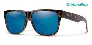 Smith Lowdown 2 Sunglass - vintage tort - ChromaPop blue mirror lens