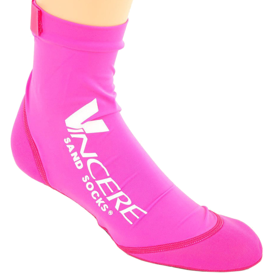 Vincere XX-Small Sand Socks - pink (CLOSEOUT - NO RETURNS)