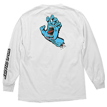 Load image into Gallery viewer, Santa Cruz Men's Screaming Hand Long Sleeve Shirt - white