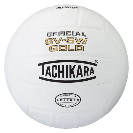 Tachikara SV5W-Gold Volleyball - white