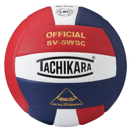 Tachikara SV5WSC Volleyball - red/white/blue
