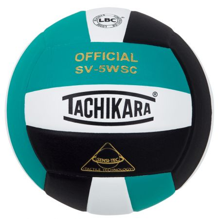 Tachikara SV5WSC Volleyball - teal/white/black