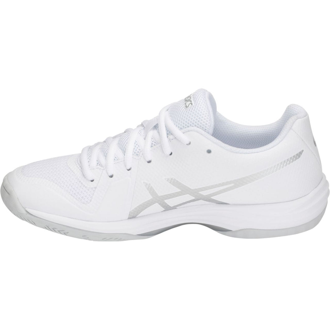 Asics Women's Gel-Tactic 2 Volleyball Shoe - white/silver B752-101
