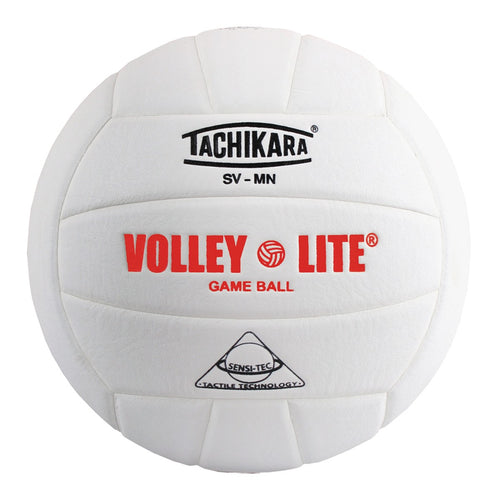Tachikara Volley-Lite Volleyball - white