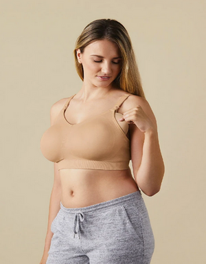 BRAVADO STILL-BH BODY SILK SEAMLESS BUTTERSCOTCH