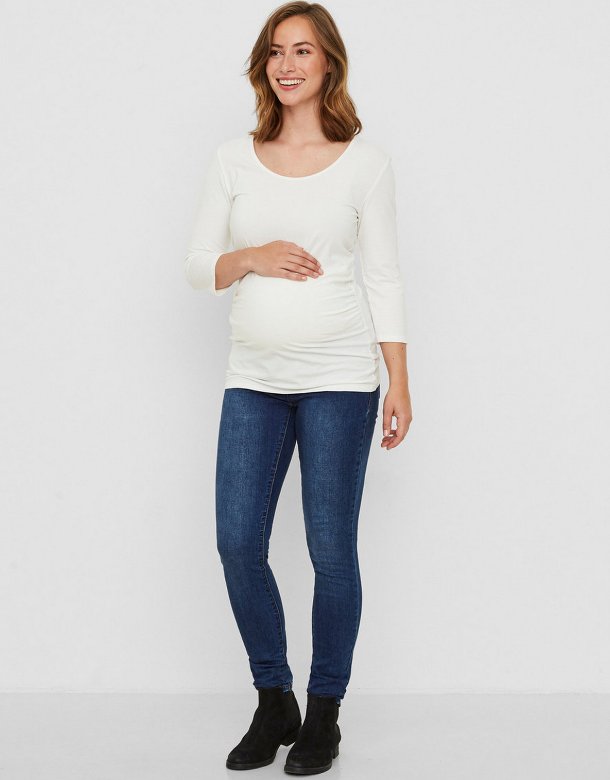 MAMALICIOUS SLIM BLUE UMSTANDSJEANS