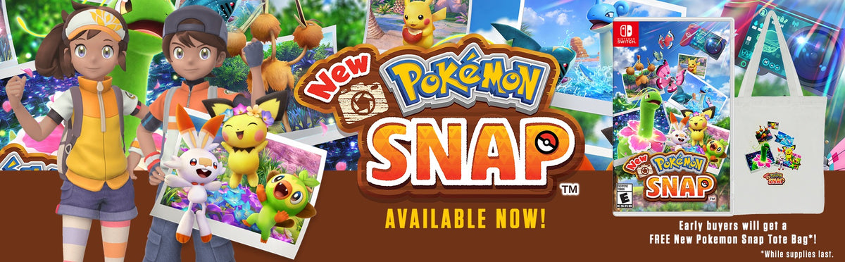 New Pokemon Snap Switch NSW