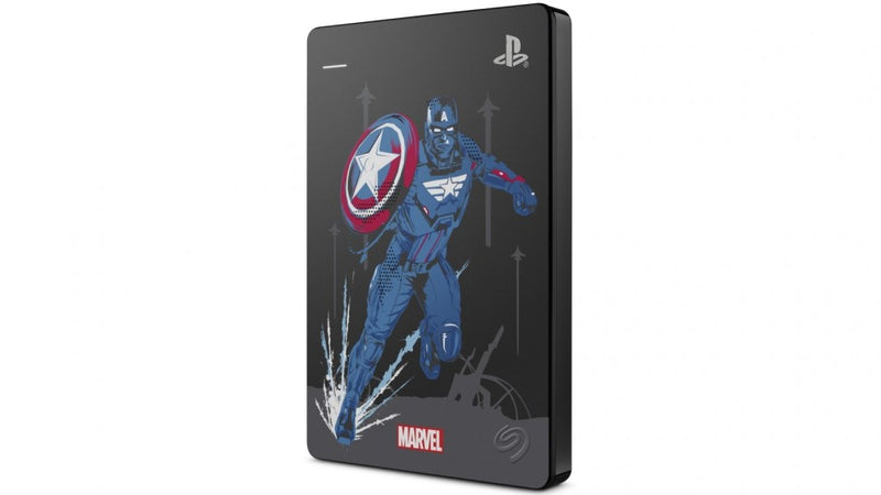 PS4 SEAGATE 2TB MARVEL AVENGERS GAME DRIVE (CAPTAIN AMERICA - STGD2000306)