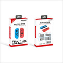 DOBE NSW SILICON CASE & RUBBER PLUG BLUE/RED (L/R)(TNS-1708)