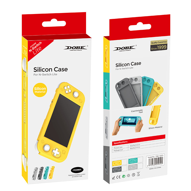 DOBE NSW SILICON CASE SILICON MATERIAL YELLOW FOR N-SWITCH LITE (TNS-19073)