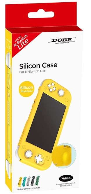DOBE NSW SILICON CASE SILICON MATERIAL YELLOW FOR N-SWITCH LITE (TNS-19099)