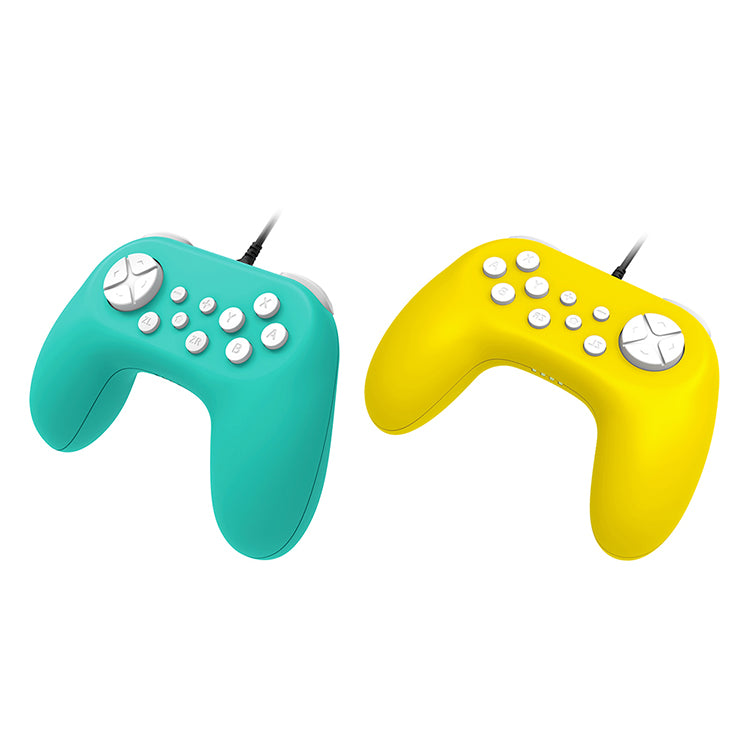 DOBE NSW WIRED CONTROLLER FOR N-SWITCH/SWITCH LITE 1.8 LINE LENGTH YELLOW (TNS-19075)