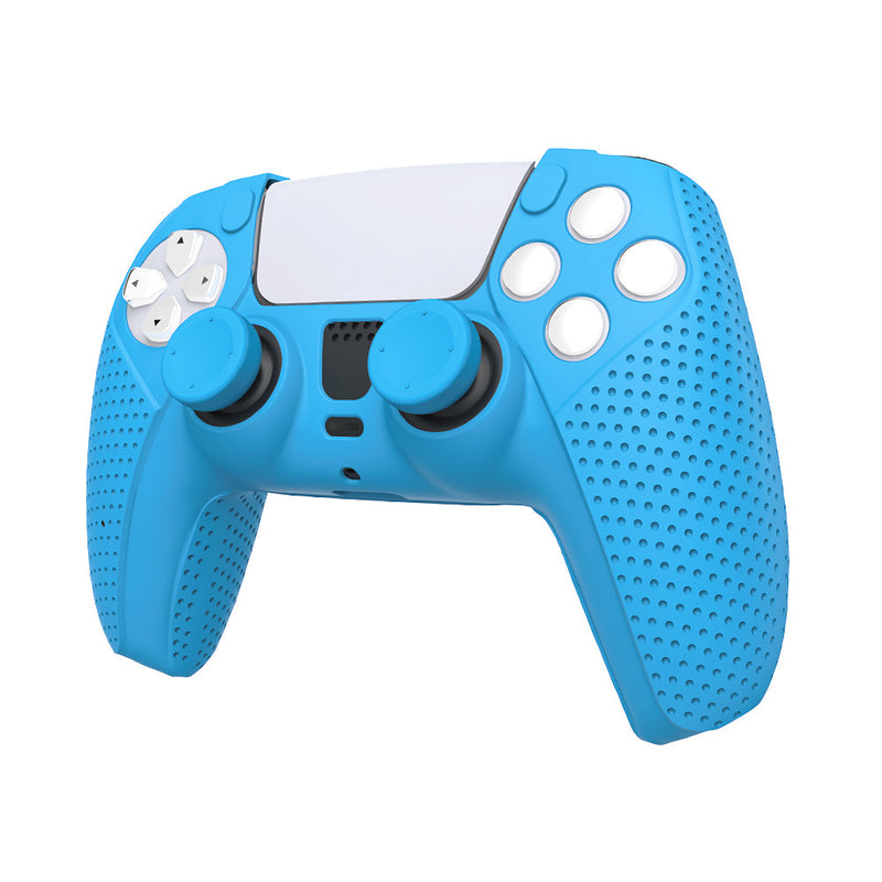 PS5 DOBE SILICONE PROTECTIVE KIT FOR P-5 (BLUE) (TP5-0559)