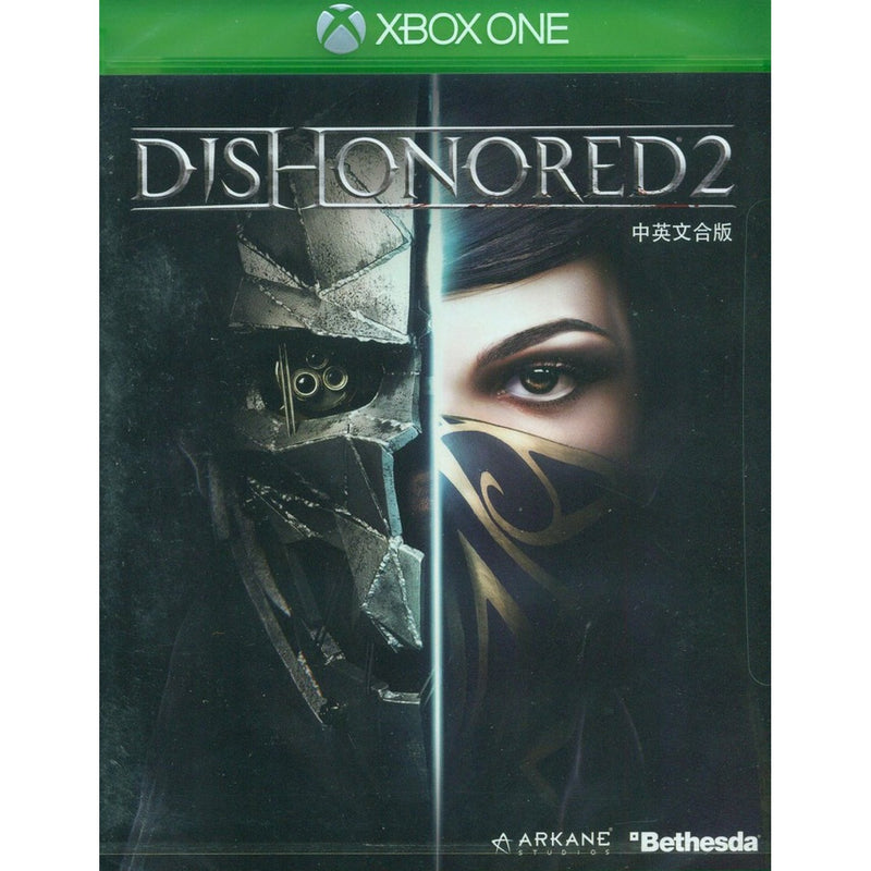 XBOX ONE DISHONORED 2 (ASIAN)