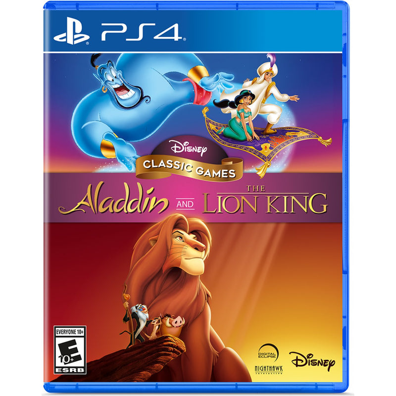 PS4 DISNEY CLASSIC GAMES ALADDIN AND THE LION KING ALL
