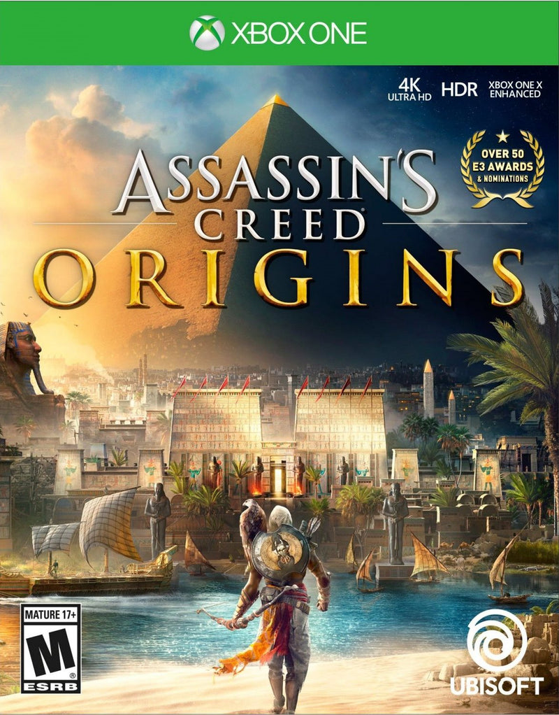 XBOXONE ASSASSINS CREED ORIGINS (US) (SP COVER)