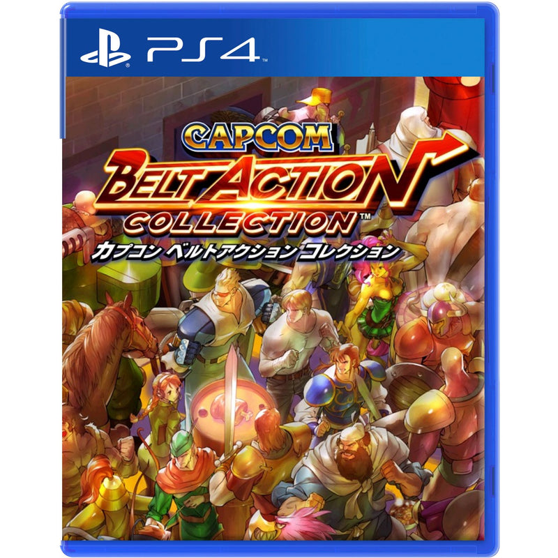 PS4 CAPCOM BELT ACTION COLLECTION REG.3