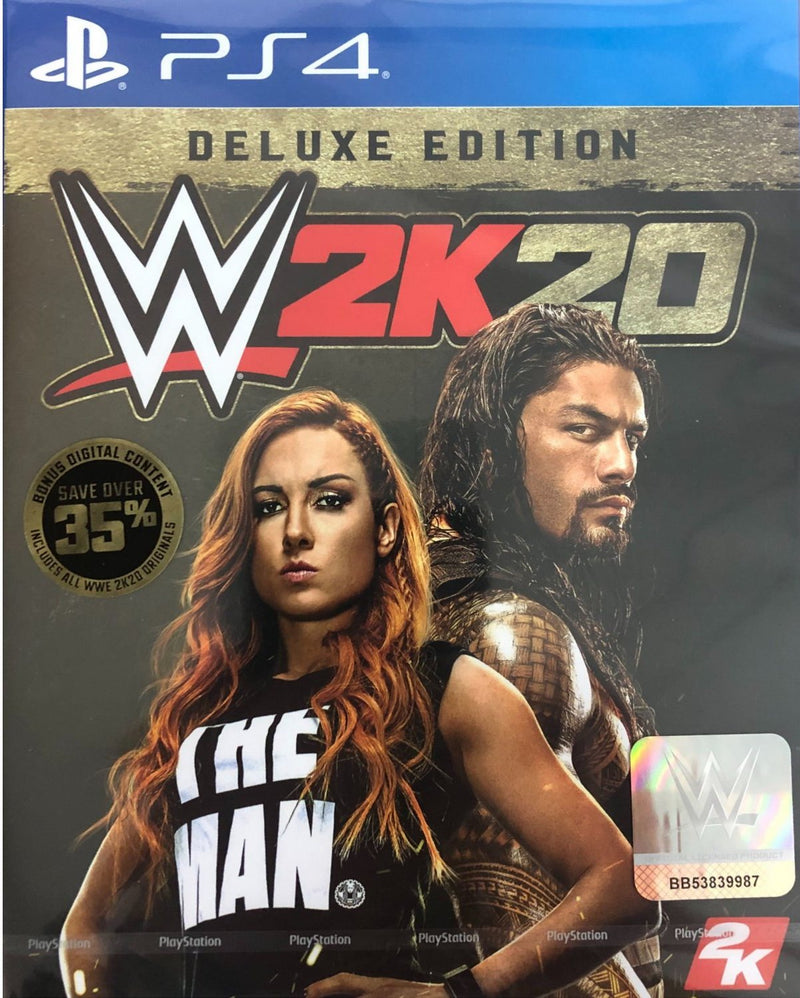 PS4 WWE 2K20 DELUXE EDITION REG.3