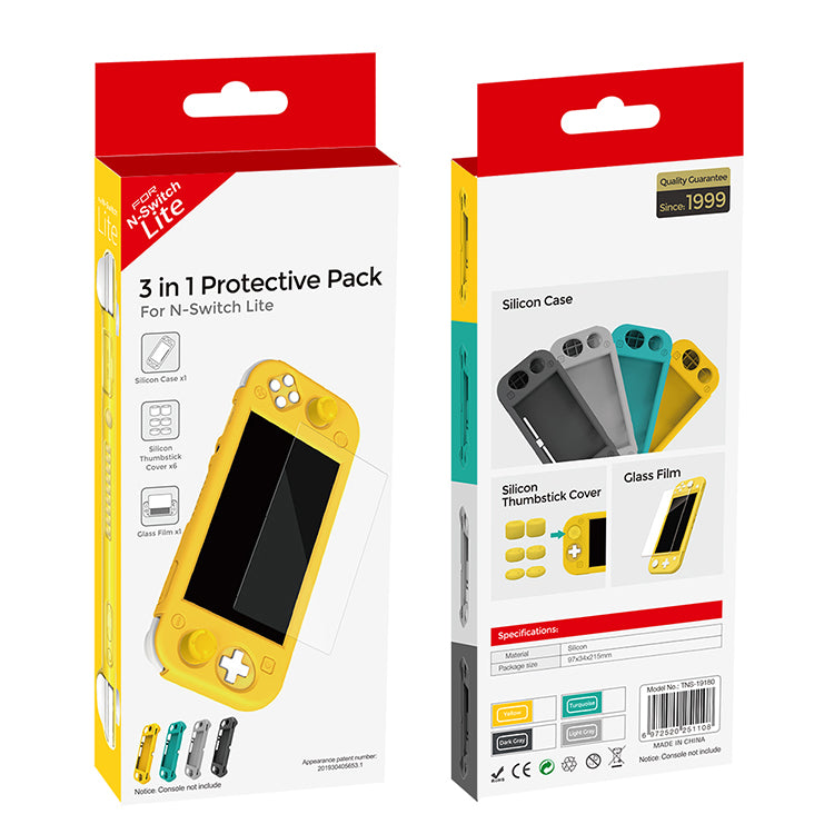 DOBE NSW 3 IN 1 PROTECTIVE PACK FOR N-SWITCH LITE TURQUOISE (TNS-19180)