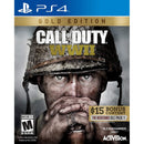 PS4 CALL OF DUTY WWII GOLD EDITION WITH $15 BONUS CONTENT THE RESISTANCE DLC PACK 1 ALL (SP COVER)