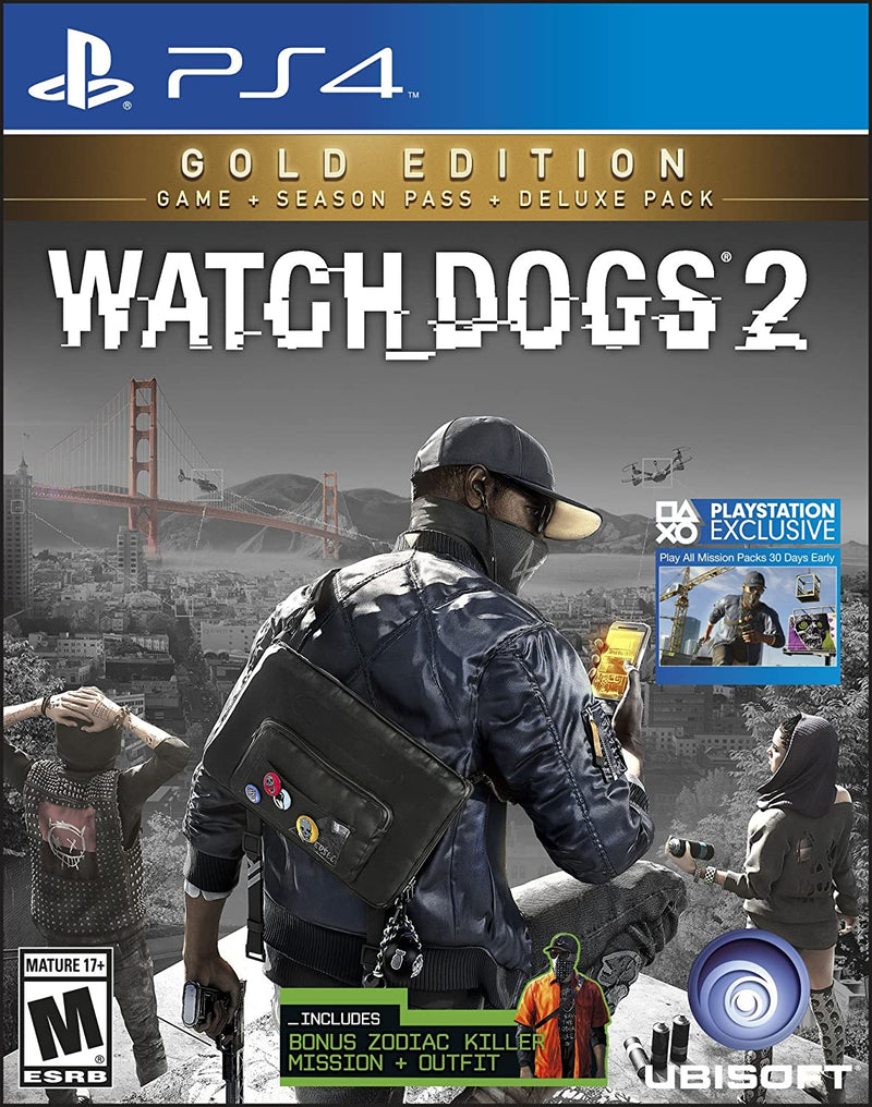 PS4 WATCH DOGS 2 GOLD EDITION ALL (ENG/FR/SP)