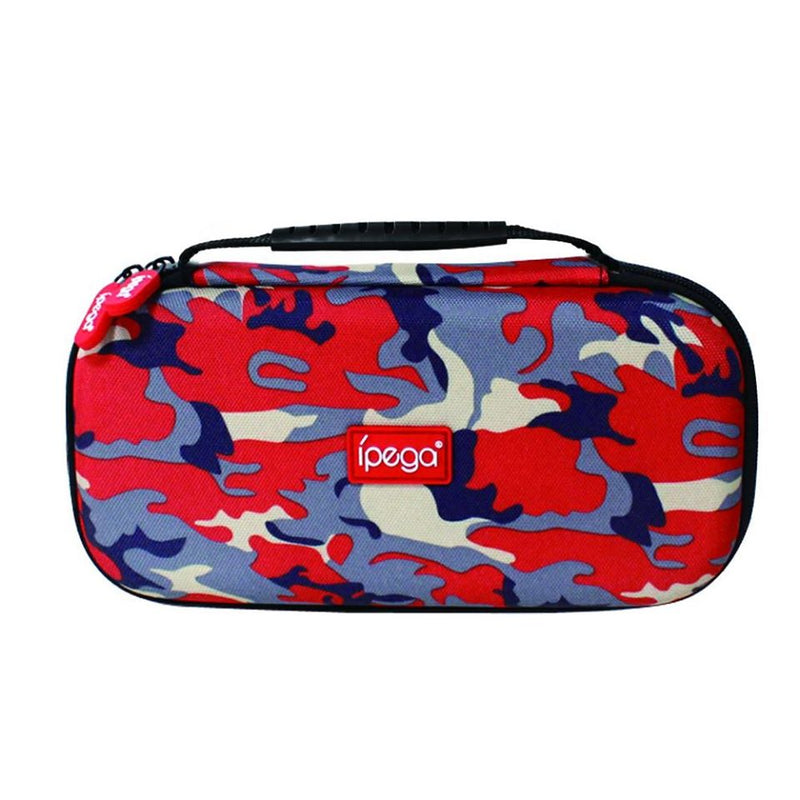 IPEGA PORTABLE TRAVEL CARRYING CASE FOR N-SWITCH LITE CAMOUFLAGE RED (PG-SL021)