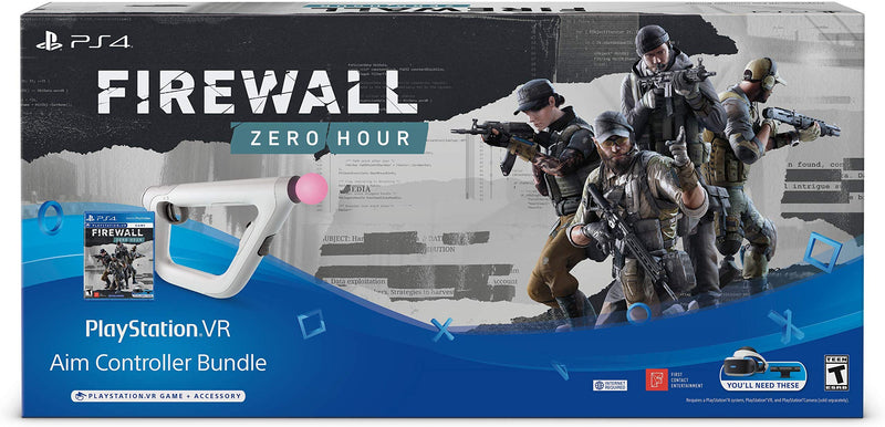PS4 FIREWALL ZERO HOUR AIM CONTROLLER BUNDLE PACK VR ALL ASIAN (ENG/CHI VER)