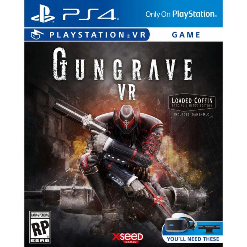PS4 GUNGRAVE VR LOADED COFFIN SPECIAL LIMITED EDITION ALL