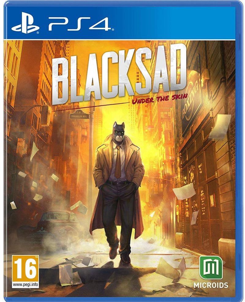 PS4 BLACKSAD UNDER THE SKIN LIMITED EDITION REG.2