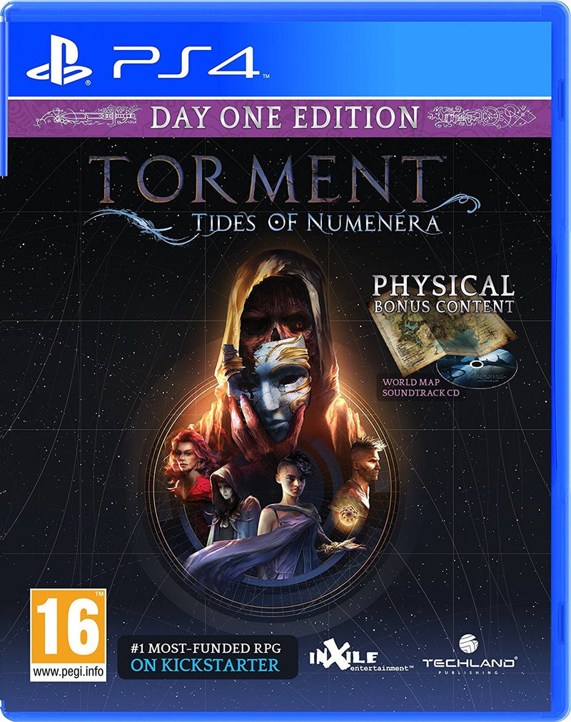 PS4 TORMENT TIDES OF NUMENERA DAY ONE EDITION REG.2