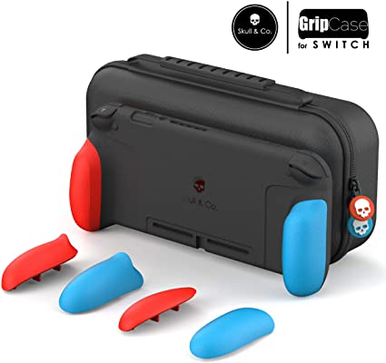 SKULL & CO. NSW MAXCARRY GRIP CASE NEON RED & BLUE (NSGCSET-RB)