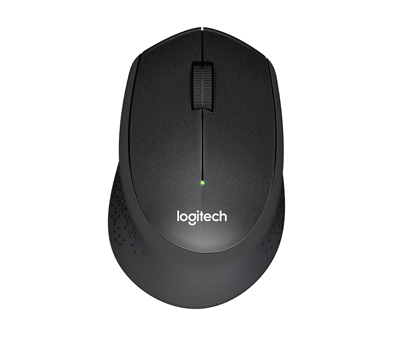 LOGITECH M331 SILENT PLUS WIRELESS MOUSE BLACK