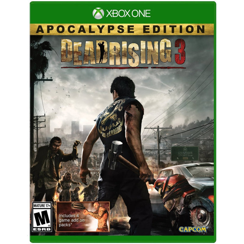 XBOX ONE DEAD RISING 3 APOCALYPSE EDITION NTSC