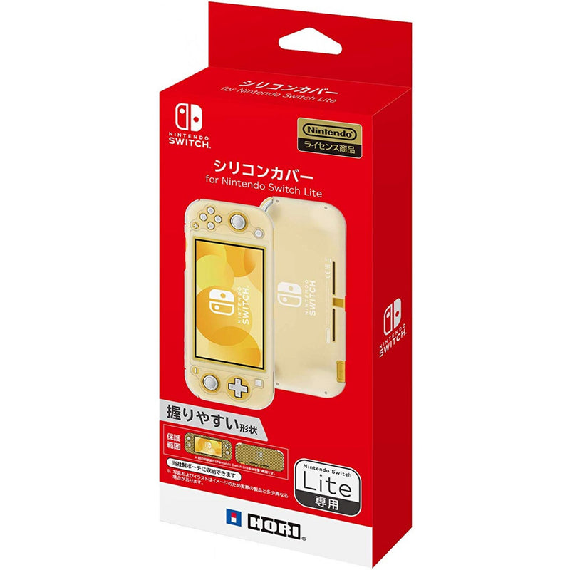 HORI NSW LITE SILICON CLEAR CASE COVER (NS2-024)