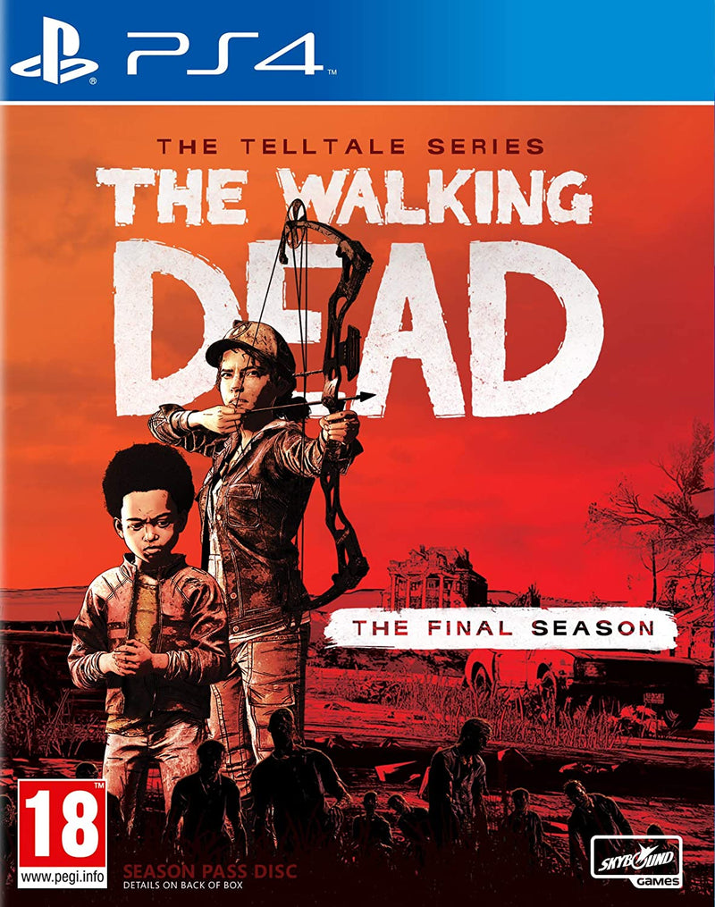 PS4 THE WALKING DEAD THE TELLTALE SERIES THE FINAL SEASON ALL