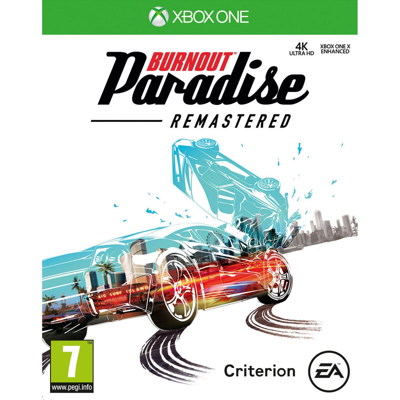 XBOX ONE BURNOUT PARADISE REMASTERED (EU)