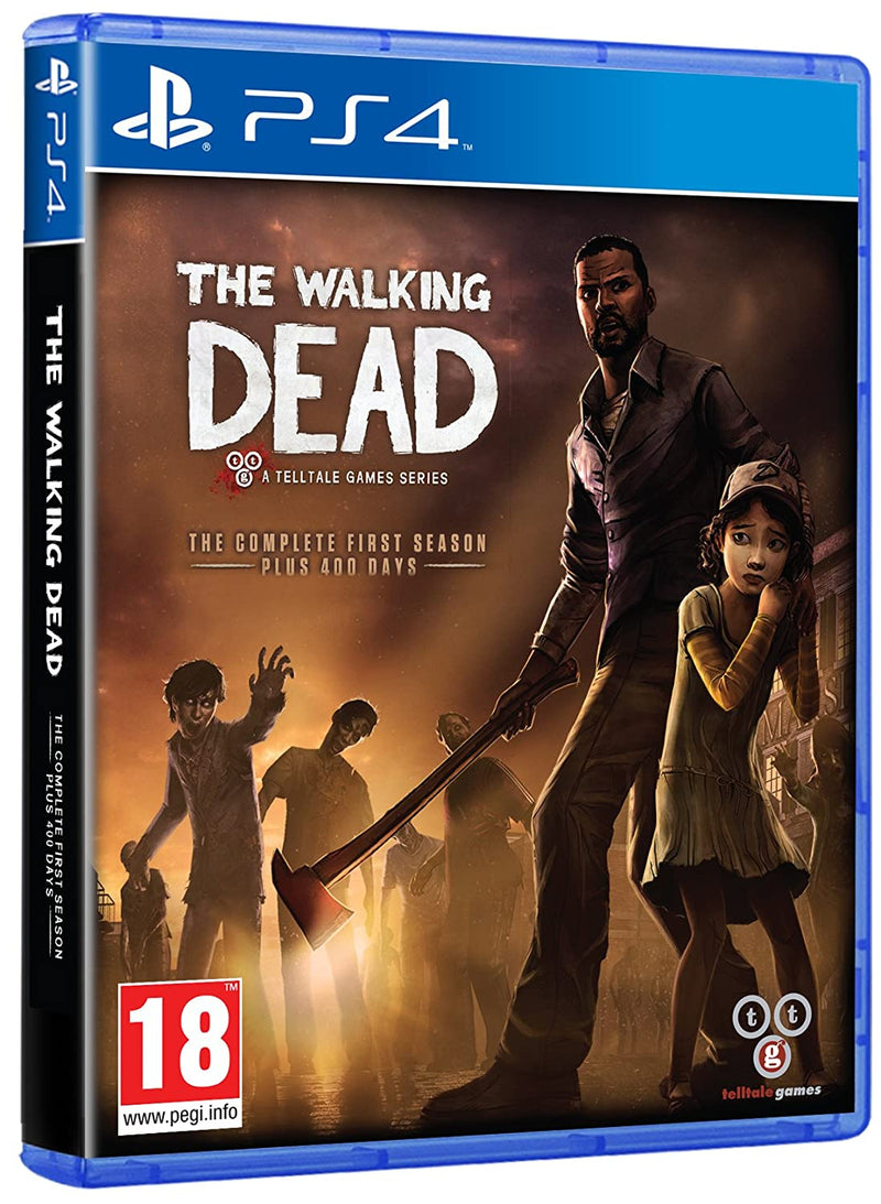PS4 THE WALKING DEAD A TELLTALE GAMES SERIES THE COMPLETE FIRST SEASON ALL