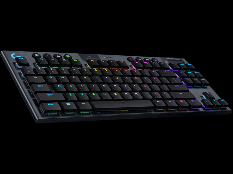LOGITECH G913 TENKEYLESS LIGHTSPEED WIRELESS RGB MECHANICAL GAMING KEYBOARD (LINEAR)
