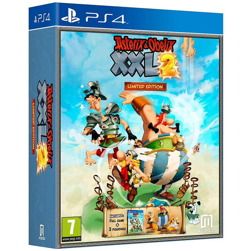 PS4 ASTERIX & OBELIX XXL 2 LIMITED EDITION REG.2