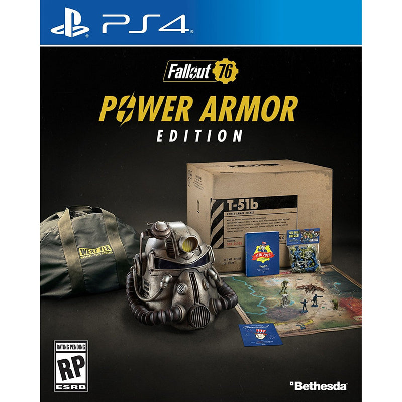 PS4 FALLOUT 76 POWER ARMOR EDITION REG.3