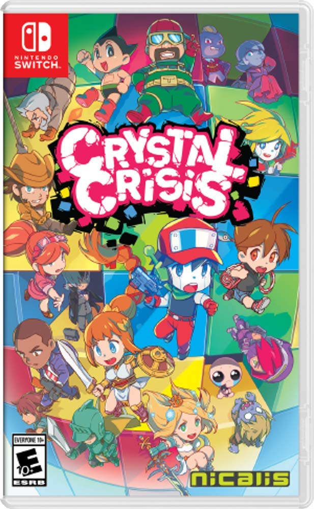 NSW CRYSTAL CRISIS WITH FREE PUZZLE CUBE INSIDE (US)