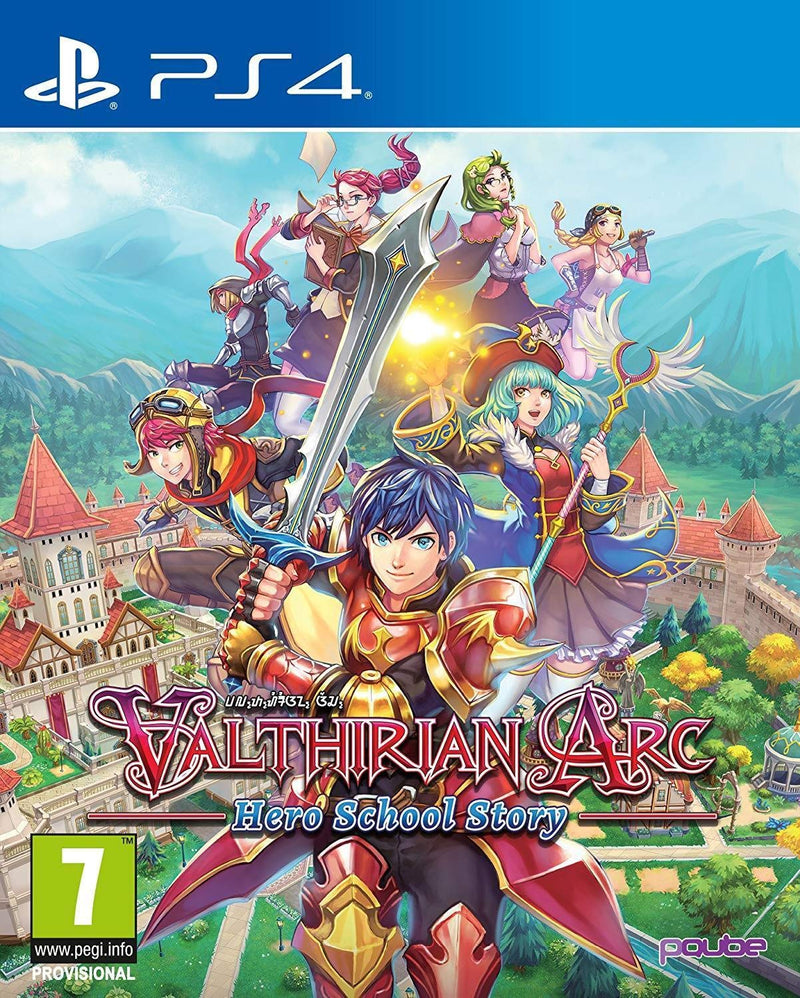 PS4 VALTHIRIAN ARC HERO SCHOOL STORY REG.2