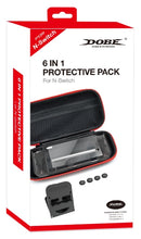 DOBE NSW 6 IN 1 PROTECTIVE PACK FOR N-SWITCH (TNS-19286)