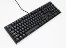 DUCKY ONE 2 BLACK CASE WHITE LED DOUBLE SHOT PBT MECHANICAL KEYBOARD CHERRY MX RED (DKON1808S-RUSPDAZW1)