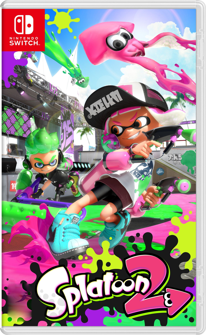 NSW SPLATOON 2 (MDE)