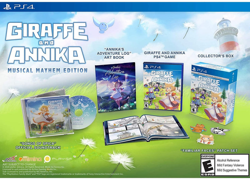 PS4 GIRAFFE AND ANNIKA MUSICAL MAYHEM EDITION ALL (ENG/FR)