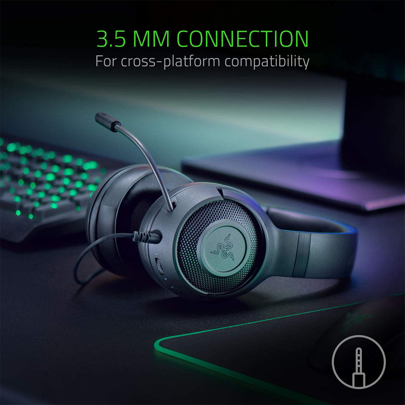 RAZER KRAKEN X MULTI-PLATFORM WIRED GAMING HEADSET (BLACK)