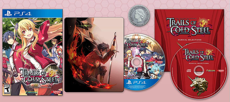PS4 THE LEGEND OF HEROES TRAILS OF COLD STEEL DECISIVE EDITION ALL