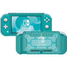 HORI NSW LITE HYBRID SYSTEM ARMOR (CLEAR/TURQUOISE) (NS2-055)