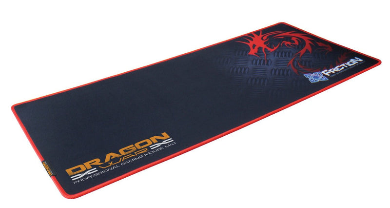 DRAGONWAR FRICTION KEYBOARD PAD + MOUSE PAD 2 IN 1 COMPLETE SET (XL) (GP-011 RED)